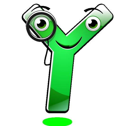 Smiley Alphabet - Y