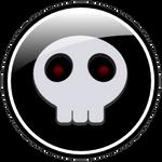 Halloween Buttons - The Skull