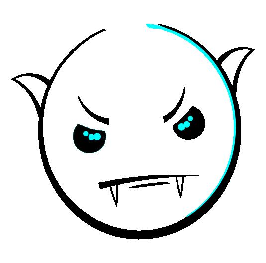 Smiley Vampire by mondspeer