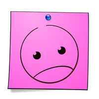 Post-It Smiley: Angry by mondspeer