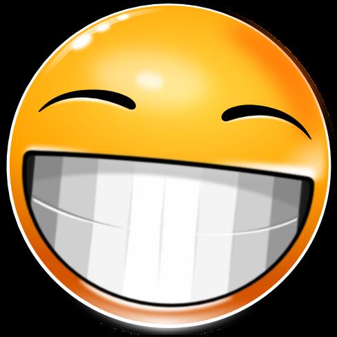 New Smiley: Big Grin by mondspeer on DeviantArt
