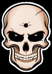 Grimm Skull Sketch