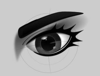 Try to draw an eye