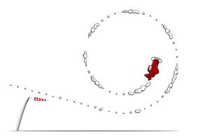 Inktober 19: loop