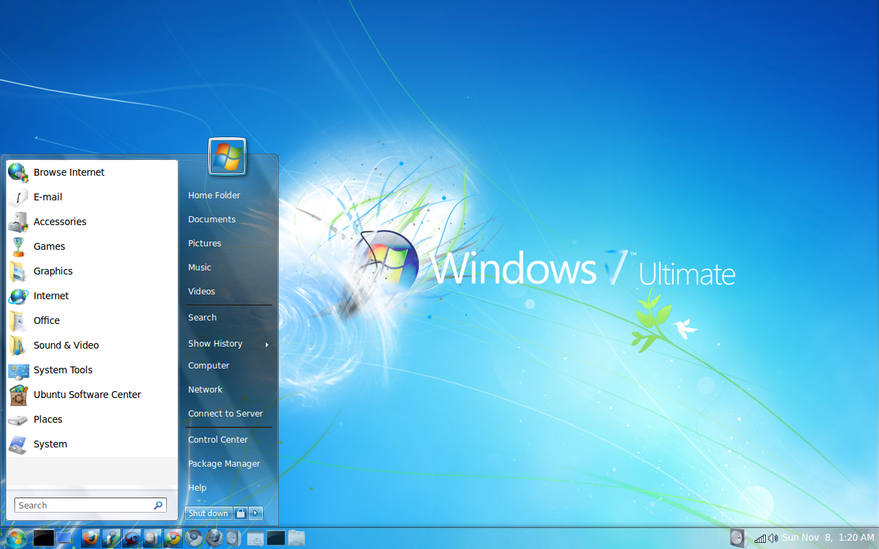 windows7 lookalike theme pack by jadenxtrinityx@deviantart.com