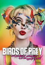 Birds of Prey animated poster