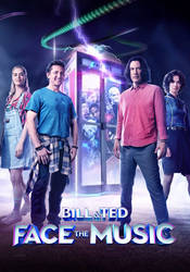 Bill and Ted animated poster