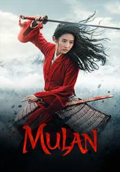 Mulan animated poster