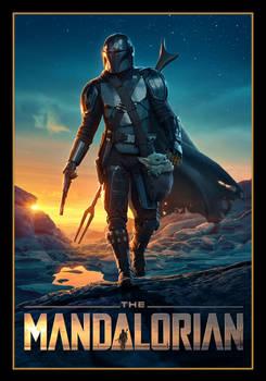 Mandalorian animated poster #2