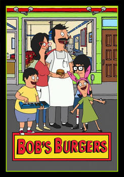 Bob's Burgers animated poster