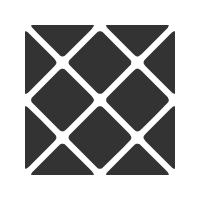 Rounded Squares - Square Pattern 2 by wuestenbrand