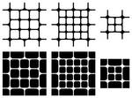 Rounded Squares - Mixed Patterns