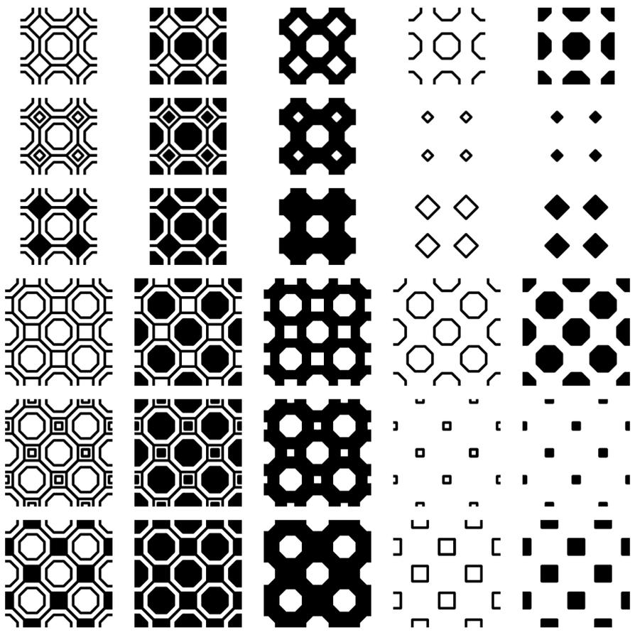 Eight Corners Patterns AddOn by wuestenbrand