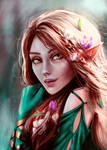 Freya, Changing with the Seasons by IllyKostova