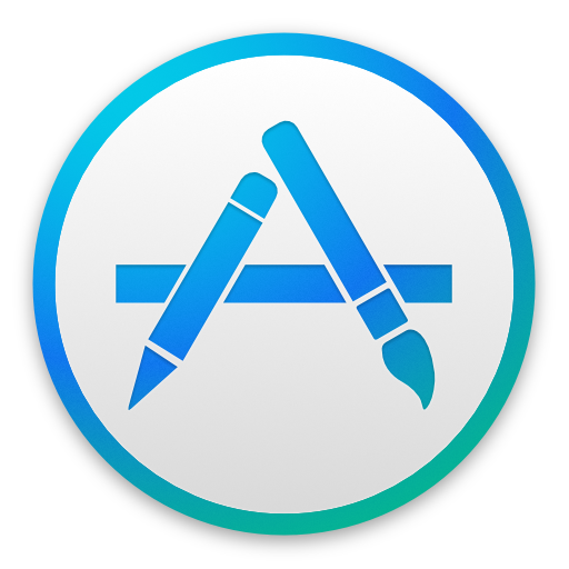 app store icon yosemite style by macoscrazy on deviantart