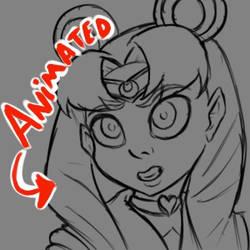 [Animated] Sailor Moon Redraw