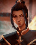 Azula Portrait by Alartriss