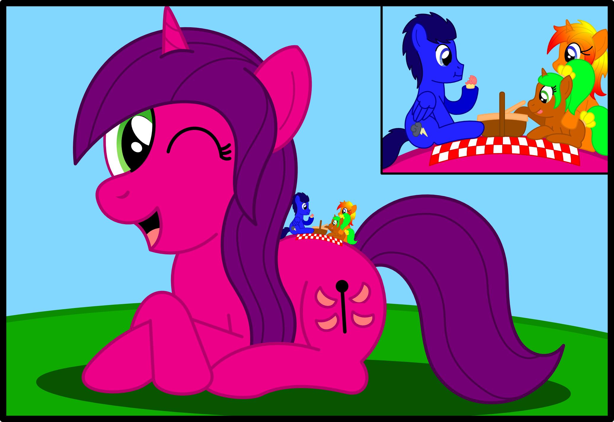 ATG Week 193 - Picnic On A Pony by Speedy526745