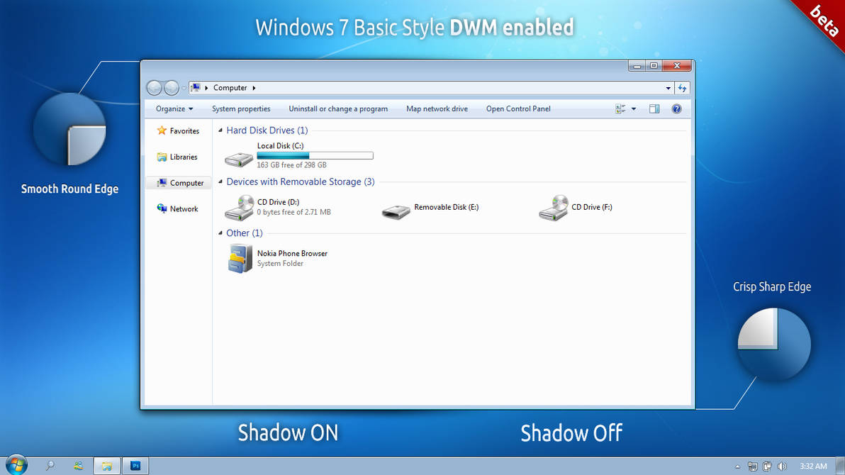 Windows 7 Basic Style DWM by bismanbir