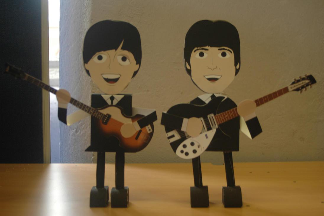 Paper Model Nets PDF - Lennon McCartney by akeel465 on DeviantArt