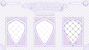 (TRANSPARENT PATTERN) Kaia's 5th Ed. Pattern Pack