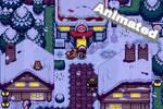 Pokemon Giratina's Legend - Snowveil City by Ghha90