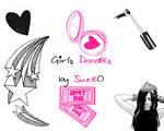 Girl's doodles - Brushes