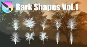 Bark Shapes Vol.1