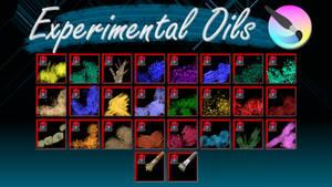 Experimental Oils for Krita