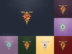 Re Zero Dragon Insignia Wallpaper Pack
