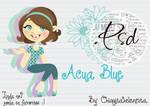 Acua Blue Doll