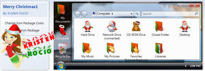 Tema Iconpackager Merry Christmas1
