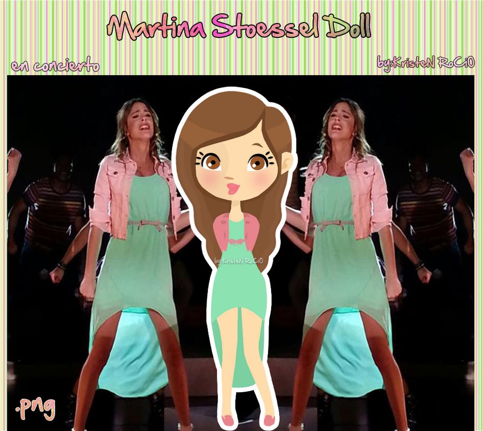 Martina Stoessel Doll (en concierto) by RoohEditions