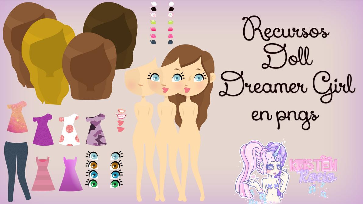 Recursos Doll Dreamer Girl en Pngs by RoohEditions