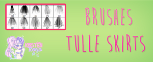 Brushes Tulle skirts