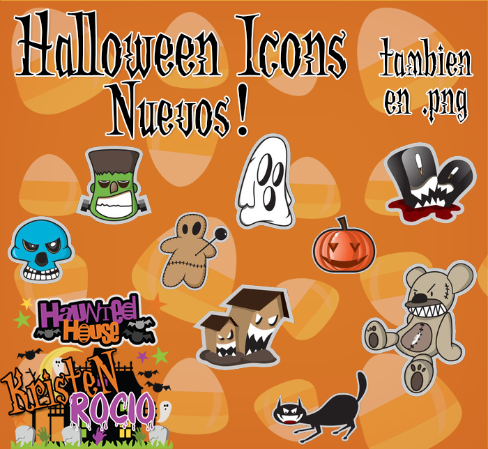 Halloween Icons Nuevos 2013 by RoohEditions