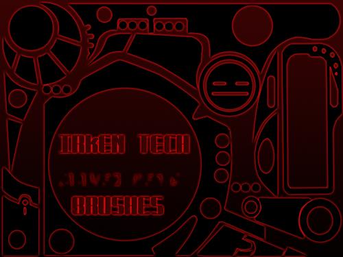Irken Tech Brushes by RoboticMasterMind