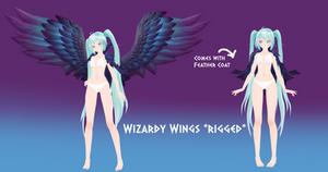 (MMD) Wizardy Wings DL+
