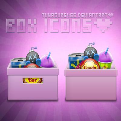 Box icons by tuyagure456