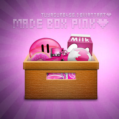 Made Box pink by tuyagure456