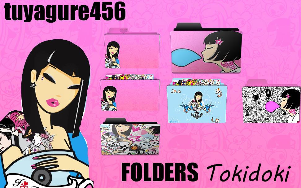 TokiDoki Folders Icons by tuyagure456