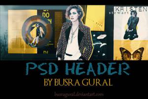 PSD HEADER - Kristen Stewart by BusraGural