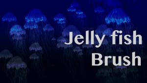 Jellyfish brush