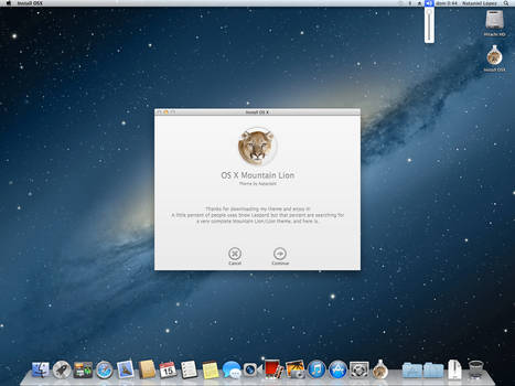 [Final] Mountain Lion Full Theme for Snow Leopard by Nataniel4