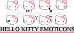Hello Kitty Emoticons