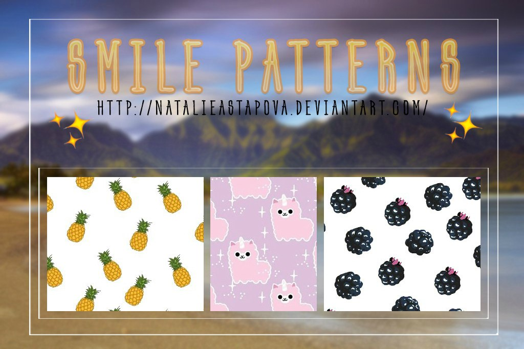 Smile Patterns By Natalieastapova by NATALIEASTAPOVA