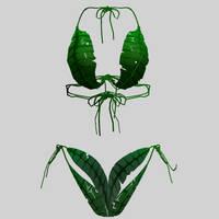 Leaf undie set by amiamy111