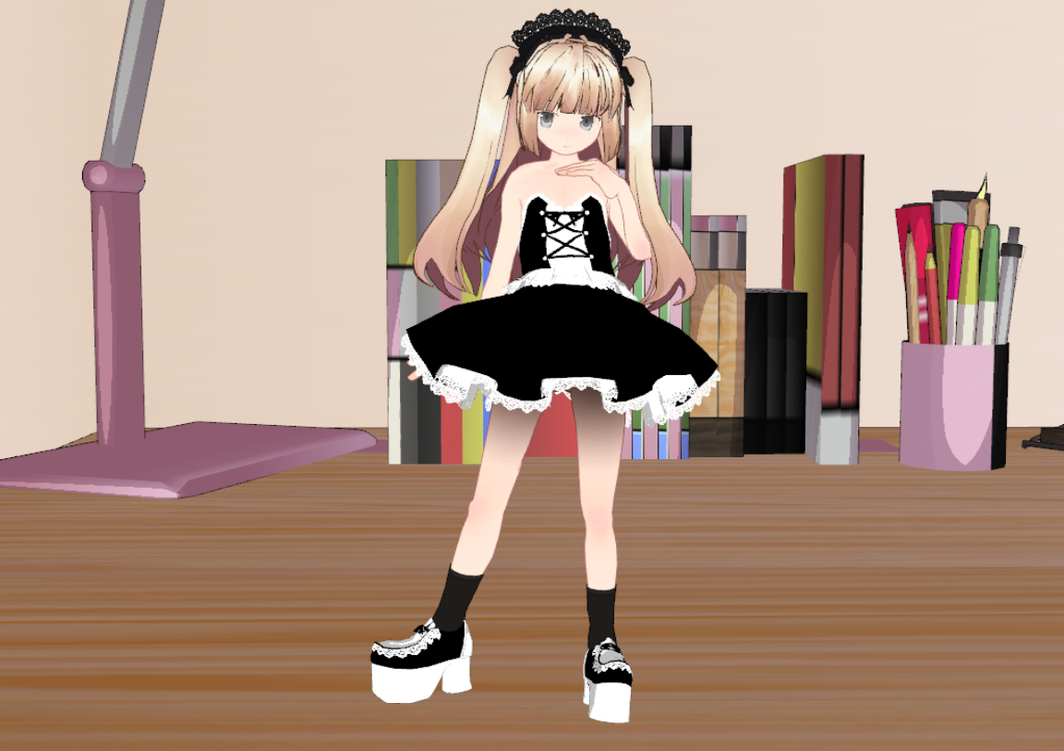 MMD Lolita set -loli- by amiamy111 on deviantART