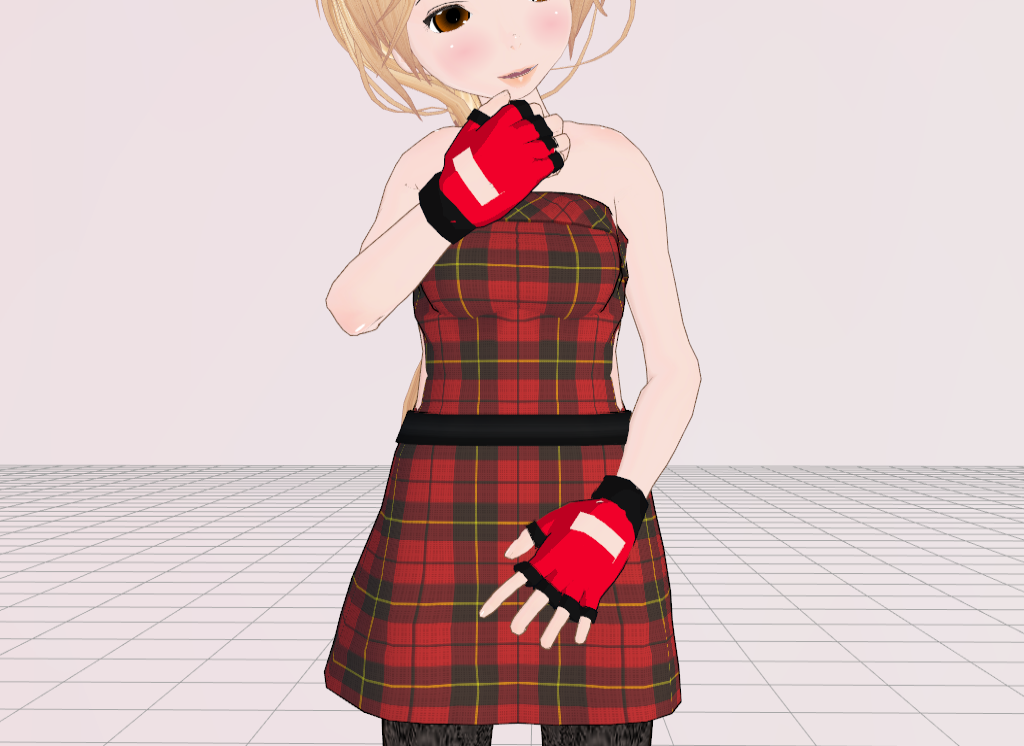 MMD Fingerless gloves by amiamy111