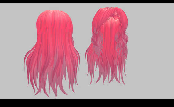 MMD - Medi Long Hair by amiamy111